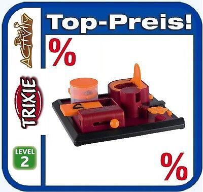 TRIXIE Dog Activity Poker Box 2 Intelligenz Spielzeug 31 × 31 cm Level 2