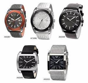 Armani Watch Collection for Macbook Air or Nikon DSLR Lens/Body West Melbourne Melbourne City Preview