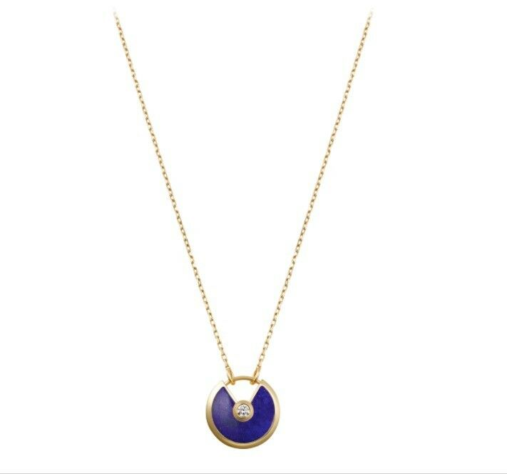 7c7116dc925b2 Amulette de Cartier necklace 18K YELLOW GOLD, LAPIS LAZULI, DIAMOND | in  Bayswater, London | Gumtree