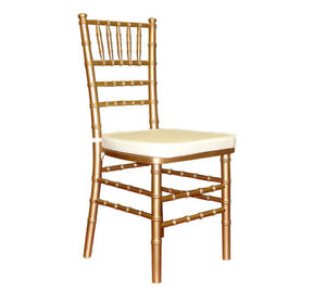 RentChiavari Chair $4 Table cloth Rental  sc 1 st  Kijiji & Rental Chairs | Find or Advertise Entertainment u0026 Event Services in ...