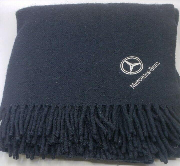 Vintage Black Mercedes-Benz Blanket