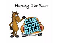 Horsey Car Boot .Lodge Farm Horse and Pony Rescue