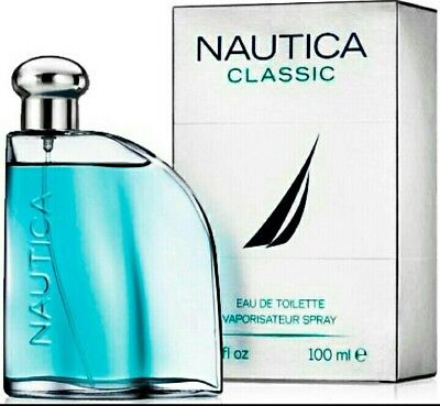 NAUTICA CLASSIC BY NAUTICA FOR MEN-EDT-SPRAY-3.4 OZ-100 ML-AUTHENTIC-SPAIN