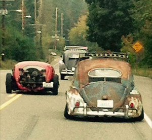Wanted Volksrod or Rat beetle