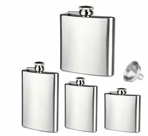brand new stainless steel pocket Silver flask
