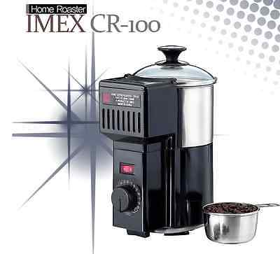 IMEX Home Electric Coffee Roaster CR-100 Automatic Bean Roasting 220V
