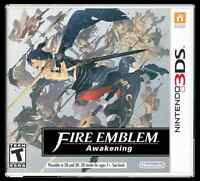 3DS Bravely Default, Fire Emblem Awakening, Tales of the Abyss