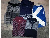 Size XL Mens/Older Boys Clothing Bundle. T-Shirts, Shorts and Onesie Pyjamas
