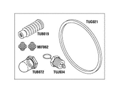 Sterilizer Pm Kit For Tuttnauer 2340e 2340m Autoclave Preventative Maintenance