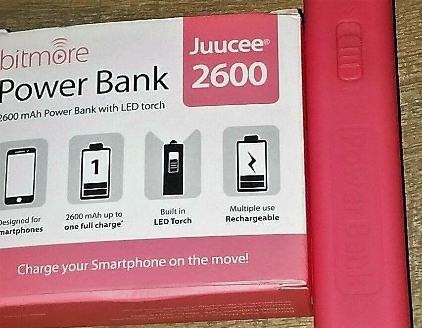 BITMORE JUUCEE 2600mAh POWER BANK