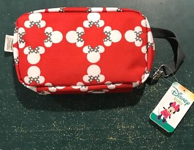Disney Baby Minnie Mouse Diaper Shuttle With Changing Pad Carry Store Organize