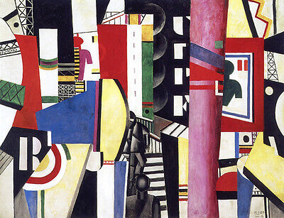 - The City   by Leger Fernand   Giclee Canvas Print Repro