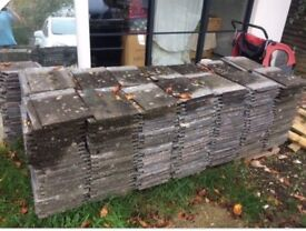 Redland 90 weathered concrete grey roof tiles