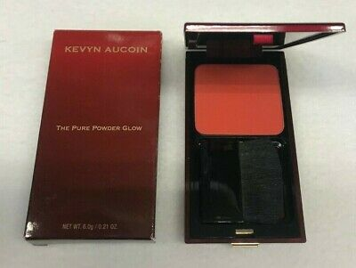 KEVYN AUCOIN The Pure Powder Glow Blush Fira Mango #35004, New In Box, Free -
