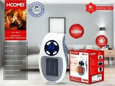 Mini Estufa Eléctrico Portable 500Watts HOOMEI - HM-8822 Radiador