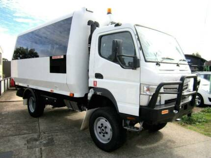 2013 MITSUBISHI FUSO CANTER 4X4 TURBO DIESEL 18 SEATER BUS Noosaville Noosa Area Preview