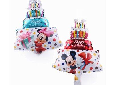 1PCS Hot Mickey Minnie birthday cake balloon, birthday party decorations 16 inch](Mickey Birthday Decorations)