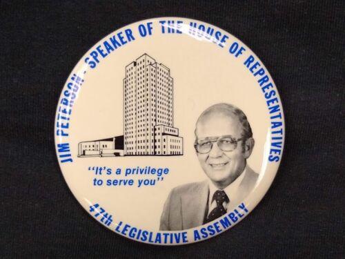 1981 North Dakota Legislative Assembly speaker of the house advertising mirror