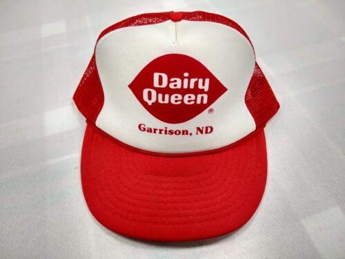 Vintage Dairy Queen Garrison North Dakota snap back trucker hat Otto Cap