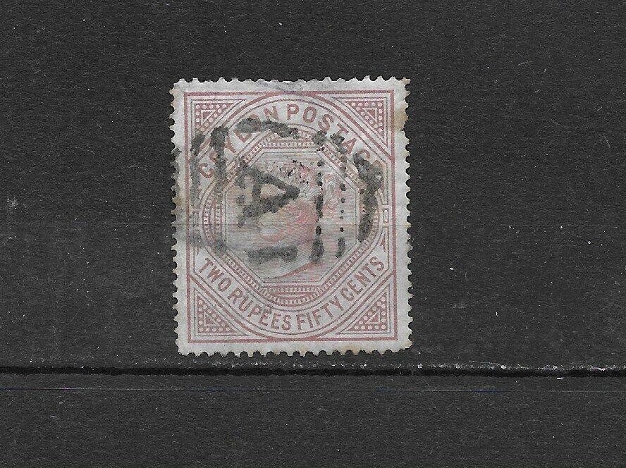 Ceylon. 82. Hinge Thin. 425 - $12.00