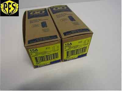 Square D Qo215 2 Pole 15 Amp 120240v Plug-in Qo Circuit Breaker New