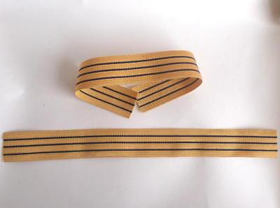 DDR ArmTressen ( Abzeichen Aufnäher ) für Volksmarine - Uniform Kapitän GBK NVA