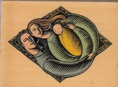 """new arrival uptown Wood Mounted Rubber Stamp 2x 3""""  Free Shipping"""