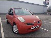 Nissan micro 1.0 ltr red 130.000 miles amazing condition