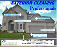 Specializing in Soft Washing, Hot Washing and Pressure Washing.