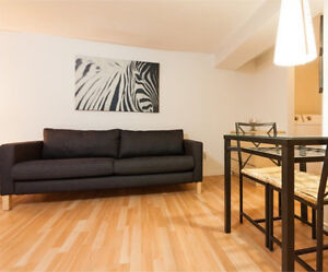 Loft tout fournit ( meubles, Internet, Câble, chauffage )