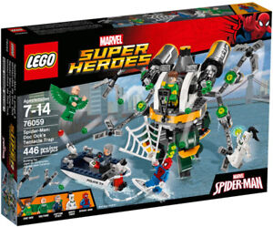 Lego Super Heroes 76059 Doc Ock's Tentacle Trap Neuf