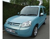 2007 Citroen Berlingo Multi-Space 1.6 HDI [92] Forte, Only 47,562 Miles, New MOT, Full Auto Sun Roof