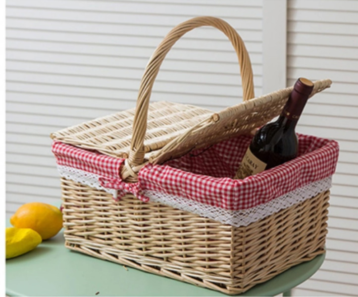 Rattan Picnic Basket for Rent in Singapore