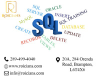 SQL TRAINING|SQL COMPLETE COURSE FROM EXPERTS