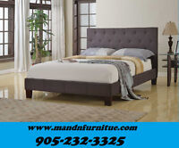 SUMMER SALE SALE ELEGANT UPHOLSTERY BED $279.00