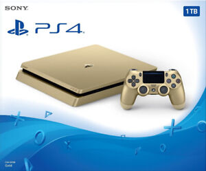 Play Station 4 PS4 GOLD édition 1TB