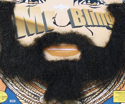 Mr T Beard Moustache Tash BA Baracus A Team Fancy Dress