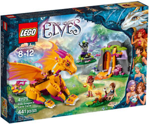 LEGO ELVES: Fire Dragon's Lava Cave #41175