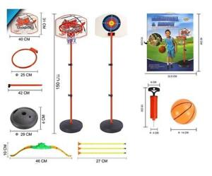 Adjustable Basketball Stand & Hoop Set & Arrow for Children Kids - Ship accross Canada