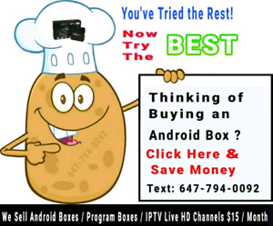 ¢~ Android Boxes  fully loaded  Iptv / Programming / update fix