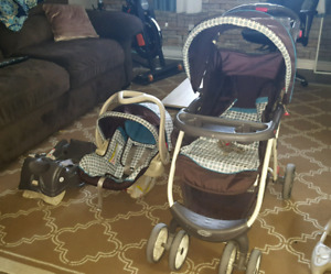 Stroller / carseat combo