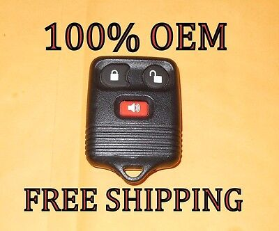100% OEM 98 99 00 FORD F150 EXPLORER EXPEDITION 00 EXCURSION KEYLESS REMOTE FOB