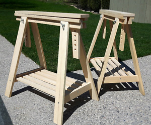 IKEA Finnvard Trestle with Shelf *Delivery Available *