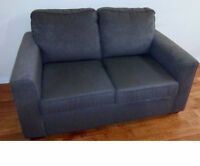 3 Seater and love seat fabric sofa