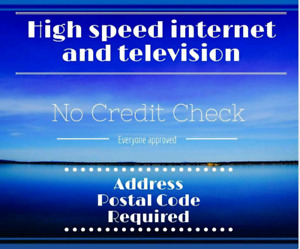 UNLIMITED HIGH SPEED FIBRE OPTIC INTERNET AND TV!