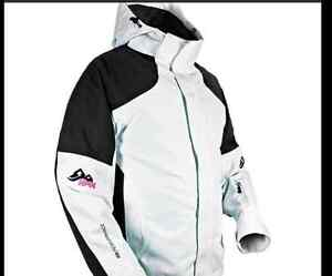 **NEW WITH TAGS -- LADIES SNOWMOBILE JACKET SIZE LARGE**