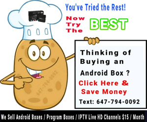 Android Boxes fully loaded  Iptv / Programming / update fix