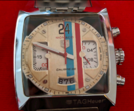 Tag Heuer Monaco Watch Stainless Steel New