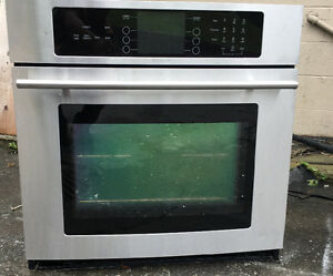 STAINLESS STEEL WALL OVEN JEN AIR