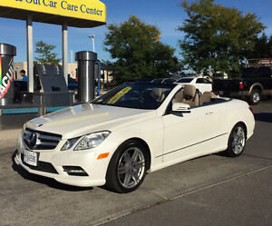 2013 Mercedes-Benz E350 Tan Convertible fully loaded